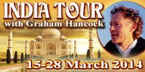Graham Hancock India tour March 2014