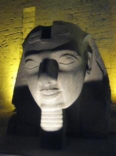 Luxor Temple statue
