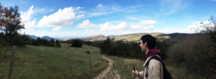 Gary Hiking