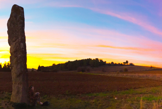 Malves-en-Minervois sunset use1